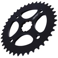 DMR Spline Fit Crisis Chain Disc - Black