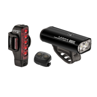 Lezyne - Connect Drive 800Xl  - Black Lezyne Front and Rear Lights