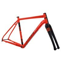Kinesis Tripster AT - Gravel Adventure Bike Frameset - Columbus - Orange