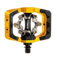 DMR V Twin Clipless Mountain BIke Pedal - Gold from Upgrade Bikes