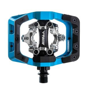 DMR V-Twin MTB Clip In Pedals - Blue from Upgrade Bikes